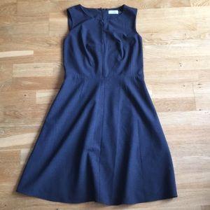 Calvin Klein Grey Sheath Dress Size 10